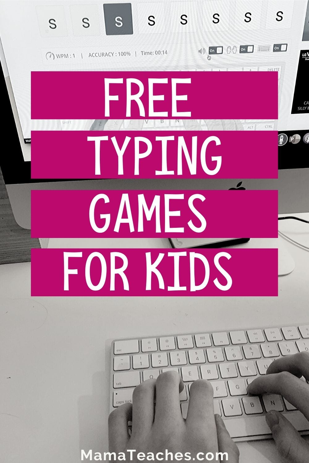 FREE Typing Games and Lessons for Kids - MamaTeaches.com
