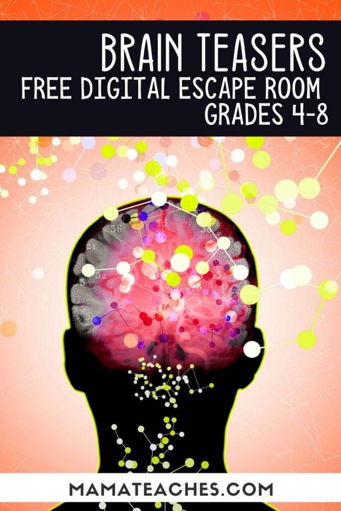 Brain Teasers Digital Escape Room