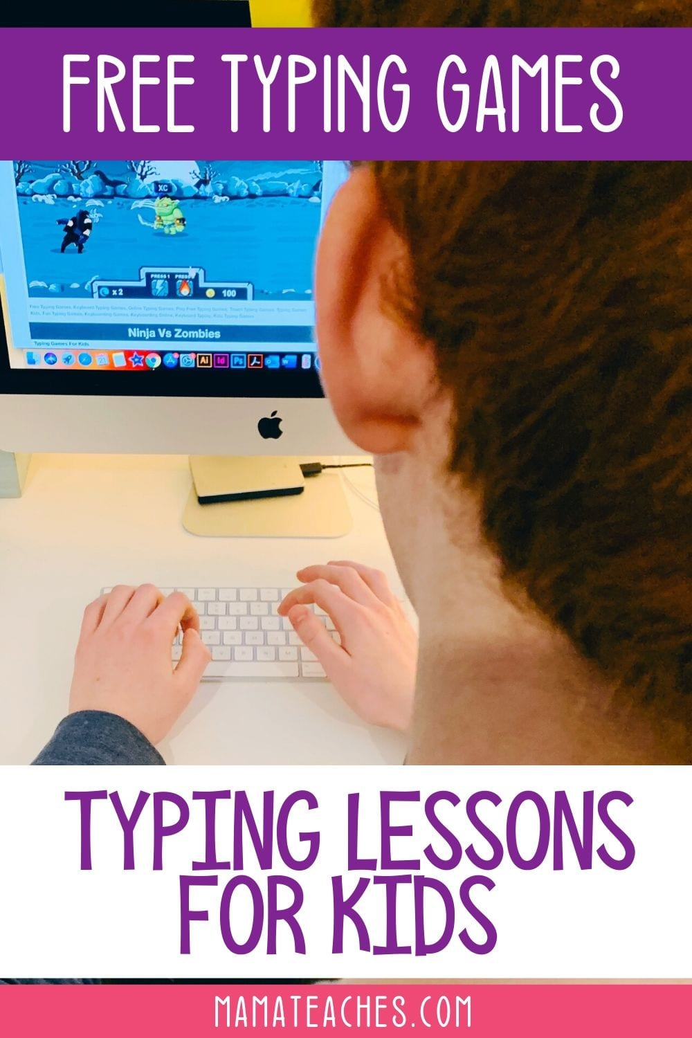Free Typing Games - Typing Lessons for Kids - MamaTeaches.com