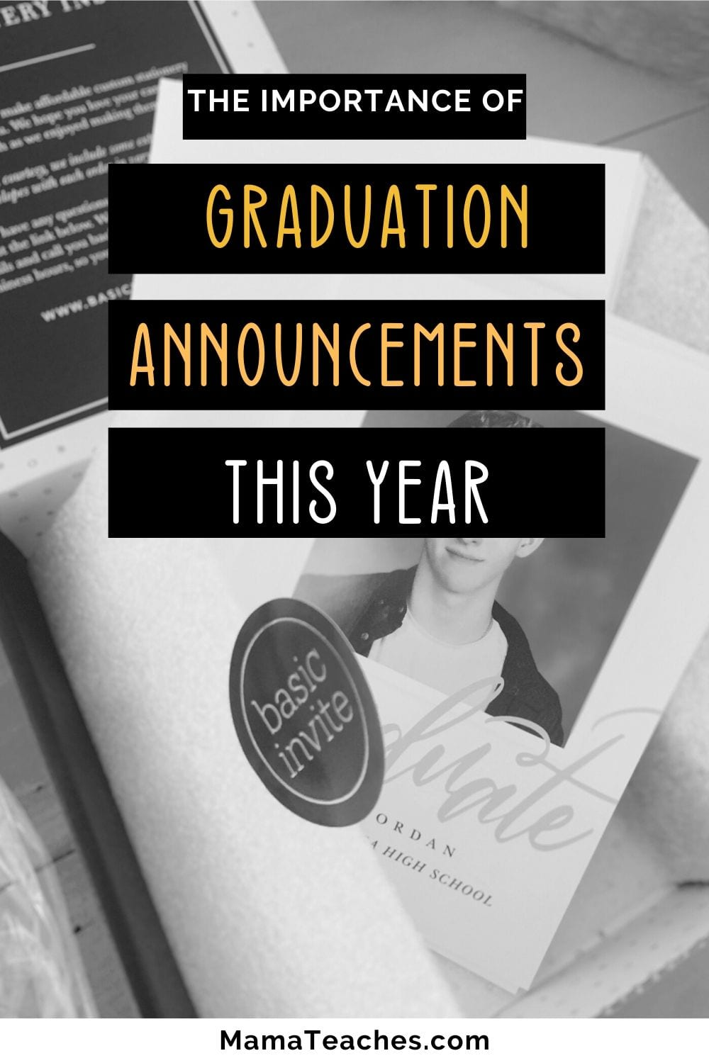 Graduation Announcements - Why They're So Important This Year