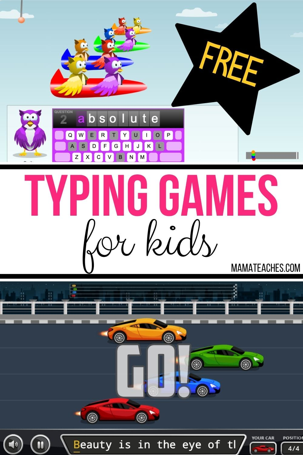 Typing Games for Kids - Free Typing Games and Lessons for Kids and Adults