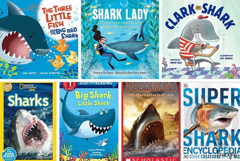 17 Awesome Books About Sharks for Kids - Children's Books About Sharks - MamaTeaches