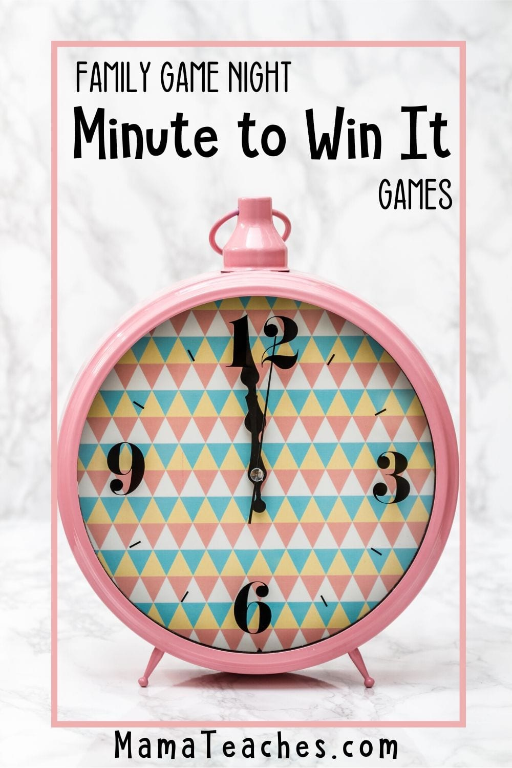 Family Game Night Minute to Win It Games - 10 Hilariously Fun Games - MamaTeaches.com