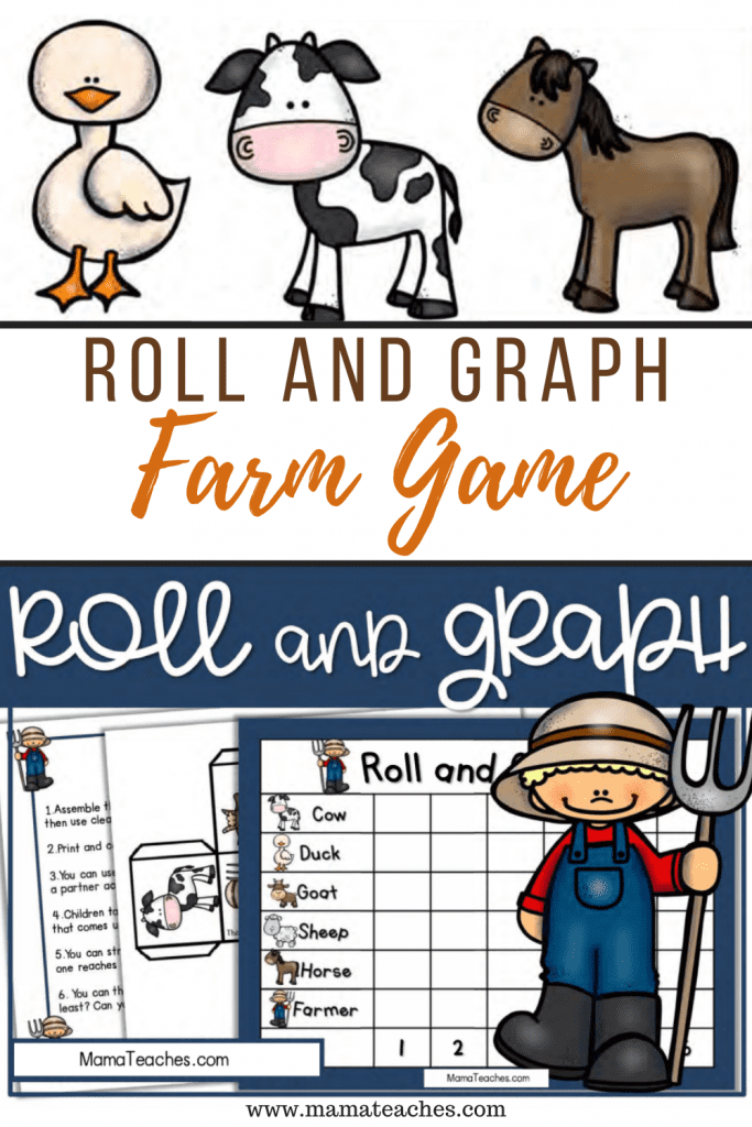 Roll and Graph Farm Game