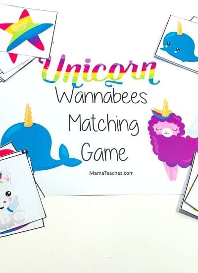 Unicorn Wannabee Matching Game