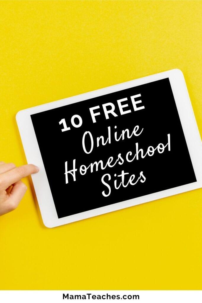 10 Free Online Homeschool Sites