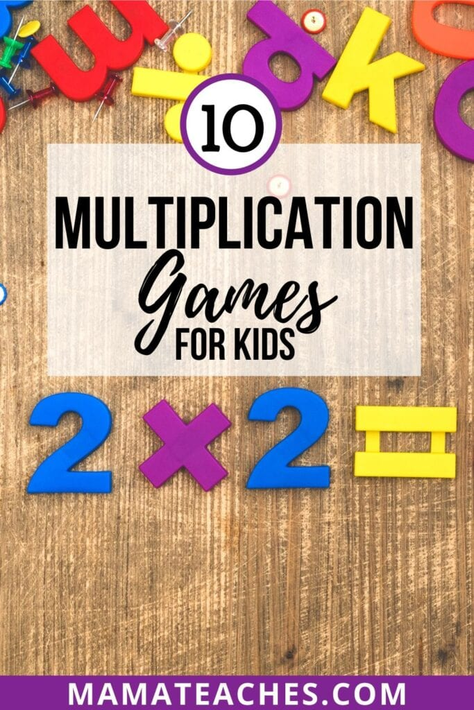 10 Multiplication Games for Kids