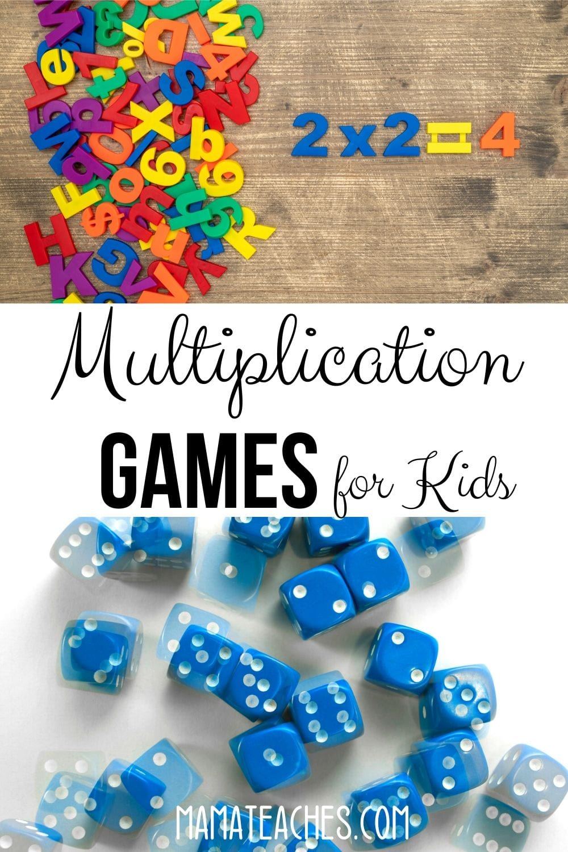 Multiplication Games for Kids to Help Stop Summer Slide