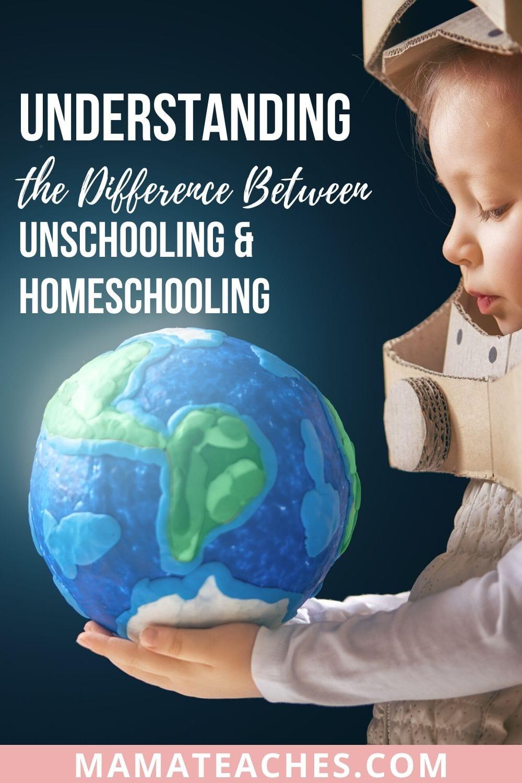 Understanding the Difference Between Unschooling and Homeschooling