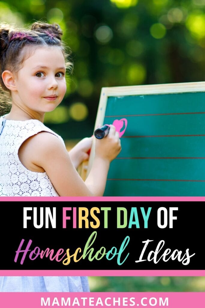 Fun First Day of Homeschool Activities