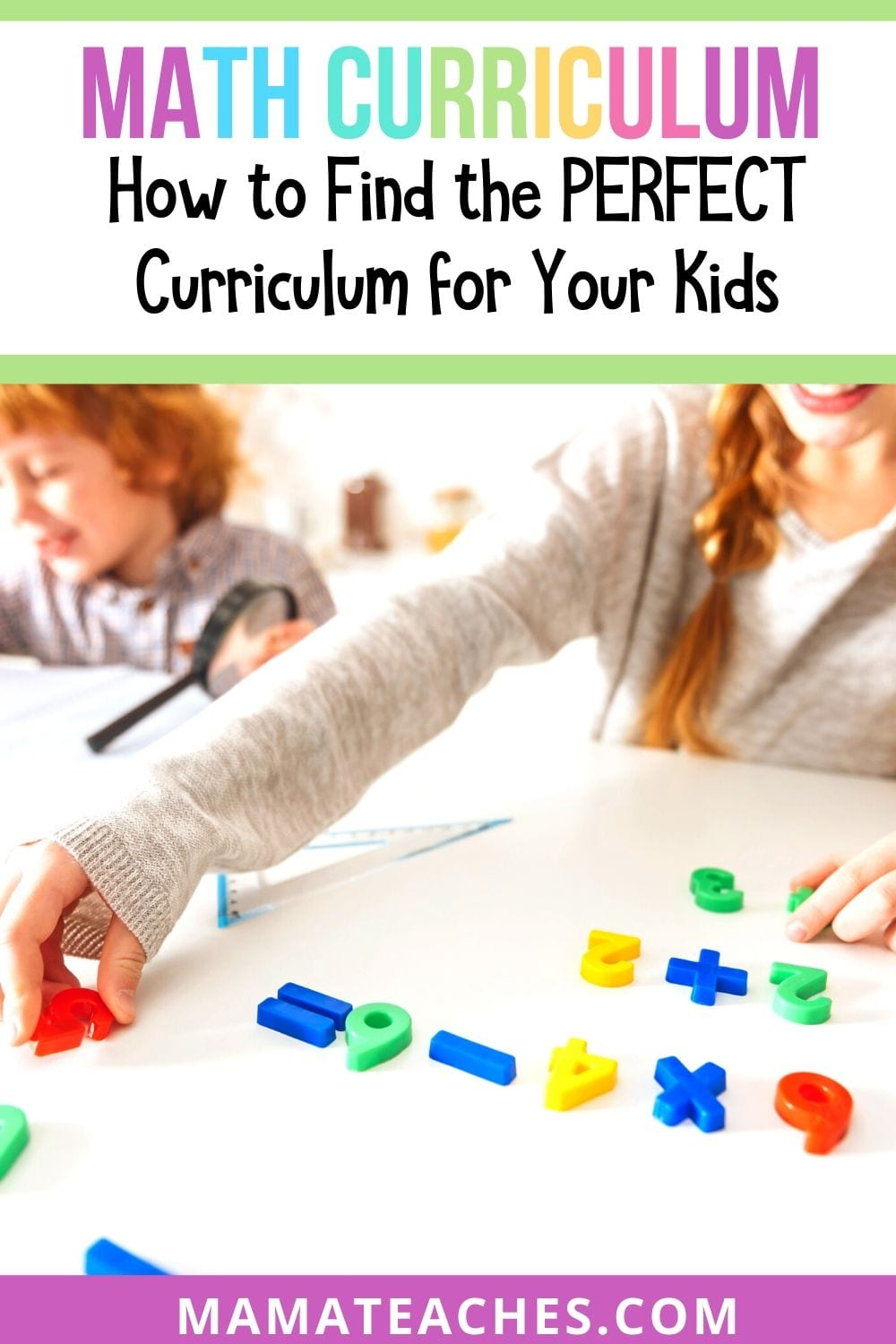How to Find the Perfect Math Curriculum for Your Kids