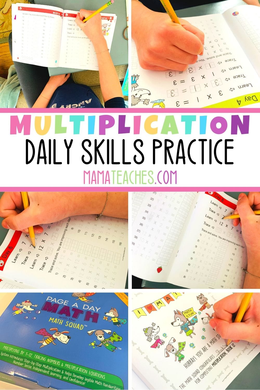 Multiplication Daily Skills Practice