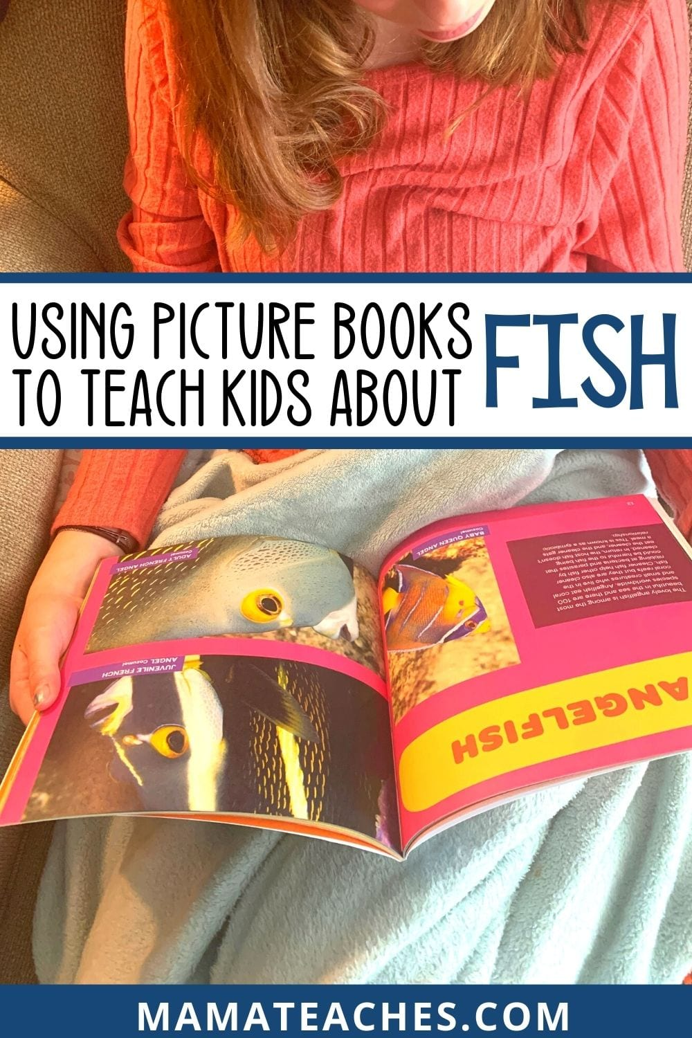 Using Picture Books to Teach Kids About Fish and Ocean Life - MamaTeaches.com