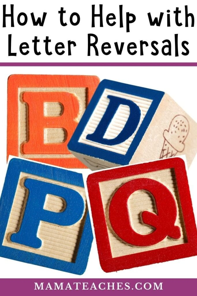 How to Help with Letter Reversals