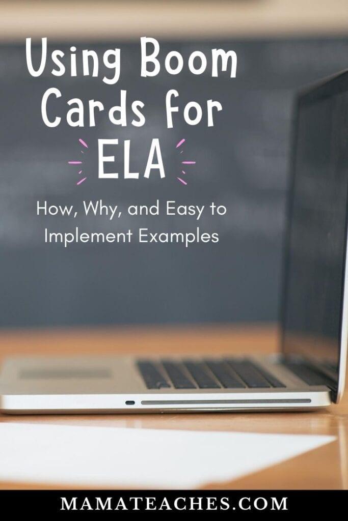 Using BOOM Cards for ELA