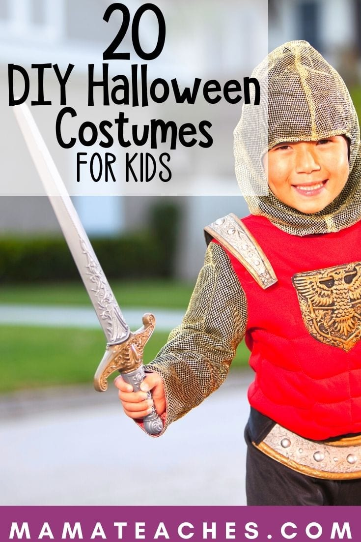 20 DIY Halloween Costumes for Kids - MamaTeaches