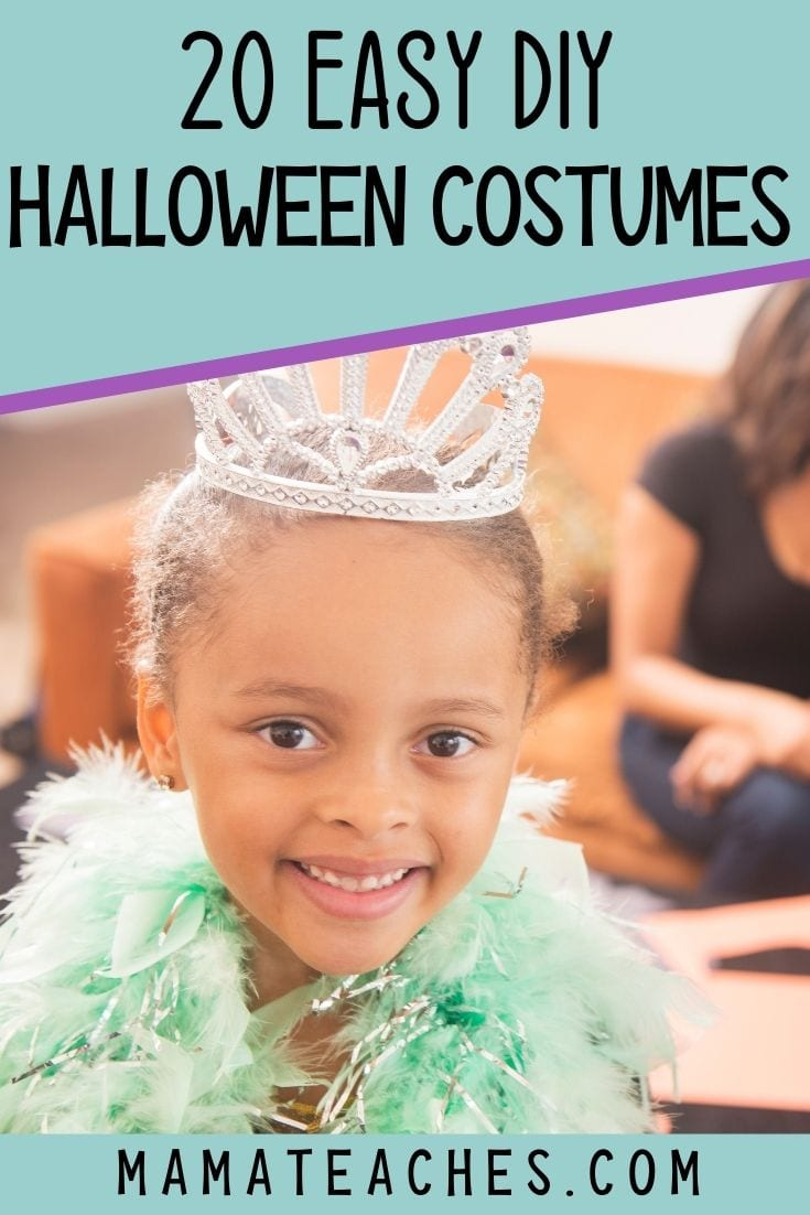 20 Easy DIY Halloween Costumes for Kids - Many of them are No-Sew!