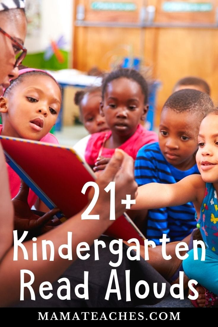 21 Kindergarten Read Aloud Picture Books for Kids