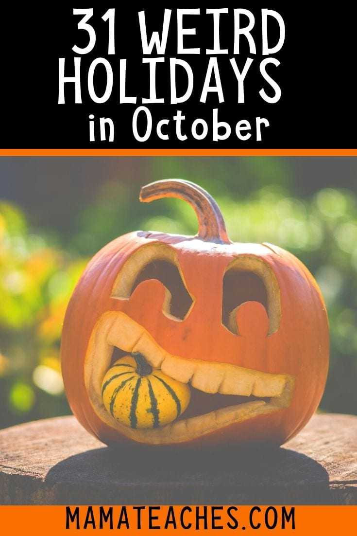 31 Unique and Weird Holidays in October