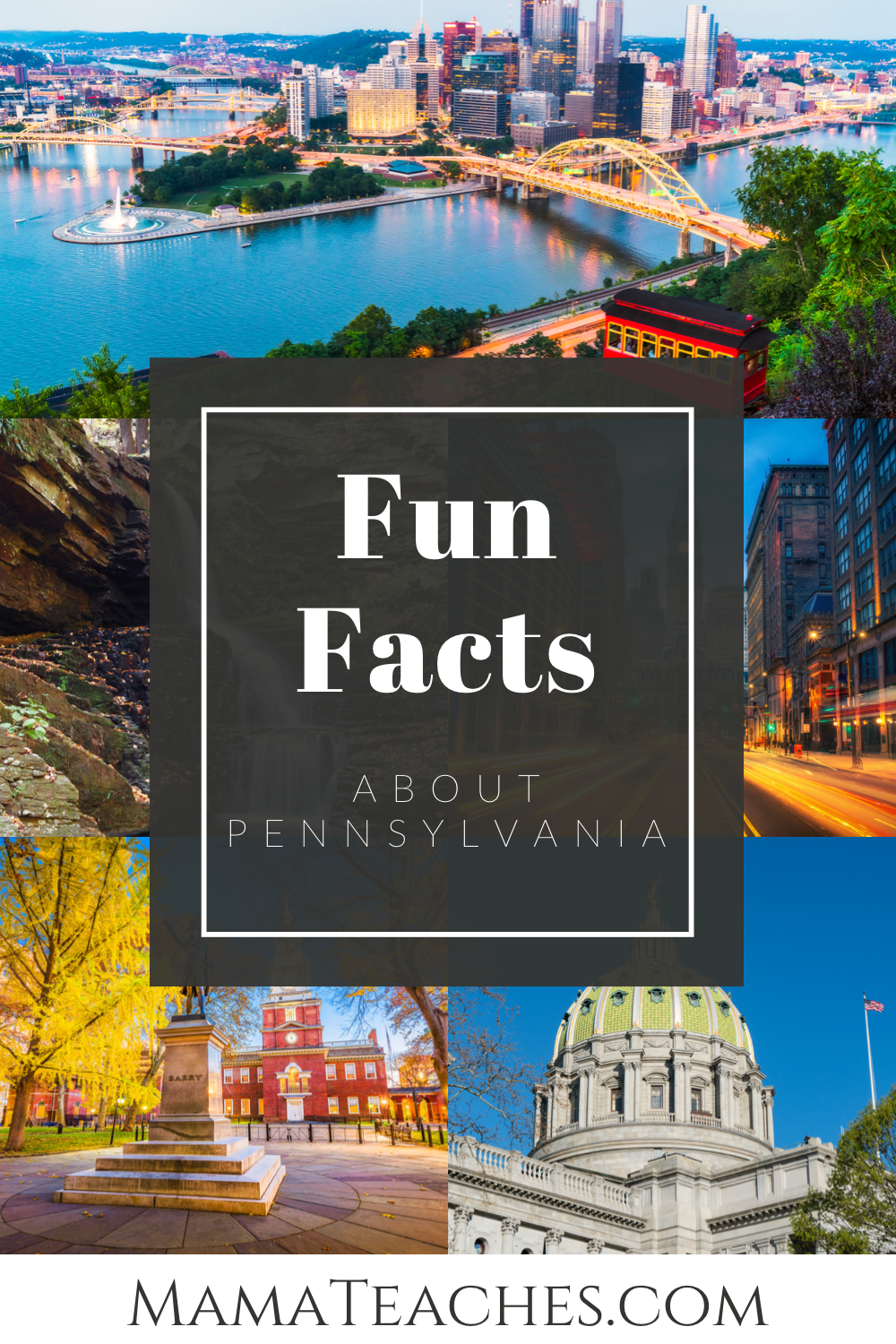 Facts About Pennsylvania for Kids