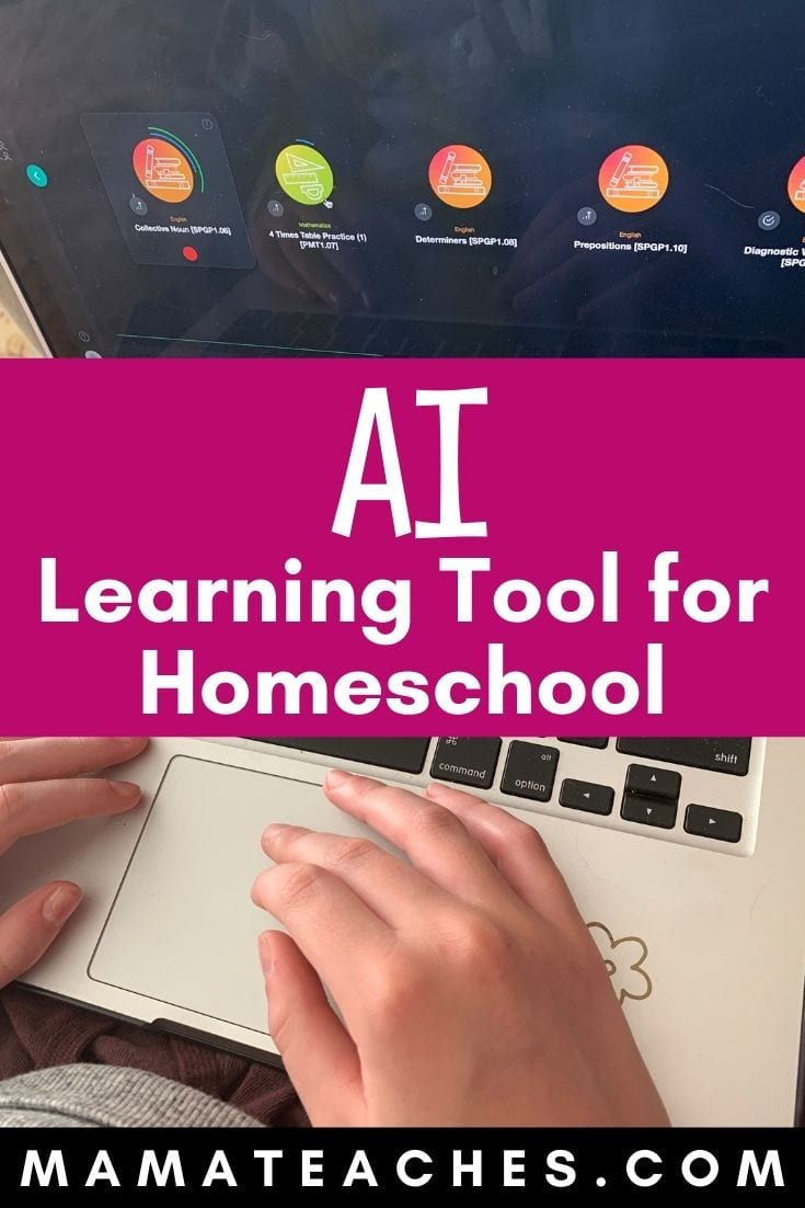 Artificial Intelligence-Based Learning Tool for Homeschooling