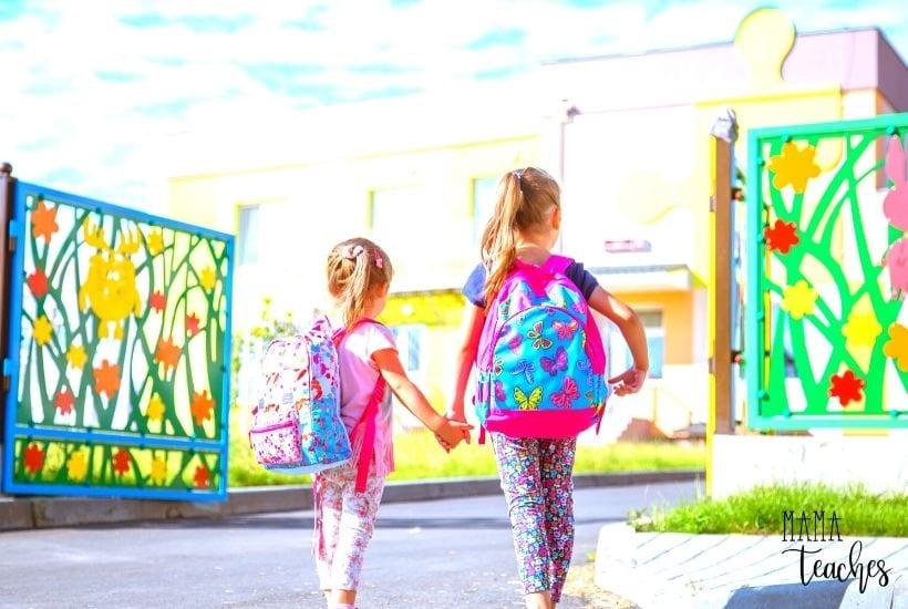 Establishing a Good Back to School Routine - MamaTeaches