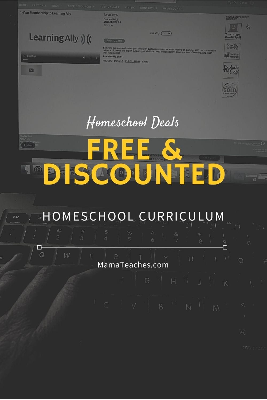 Homeschool Deals - Free and Discounted Homeschool Curriculum