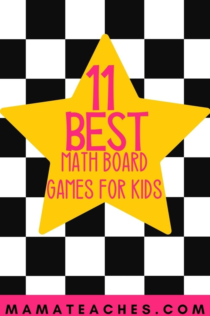 Math Board Games for Kids That They Will Love - MamaTeaches.com