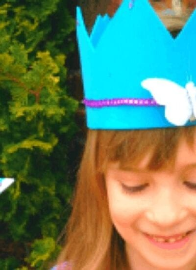 Princess Wand and Crown Craft for Kids