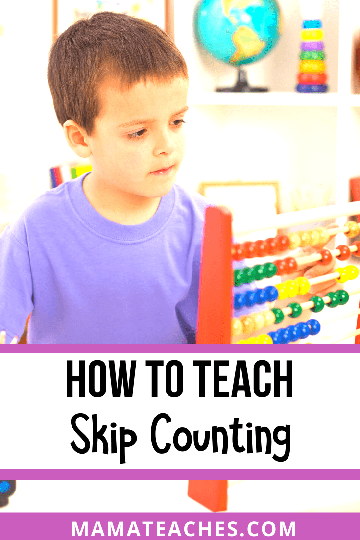 How to Teach Skip Counting to Kids - MamaTeaches.com
