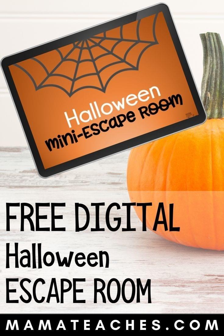Free Digital Halloween Escape Room for Kids