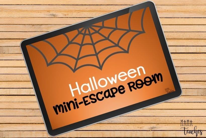 Free Digital Halloween Escape Room
