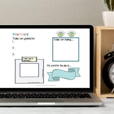Free Digital Gratitude Journal for Kids