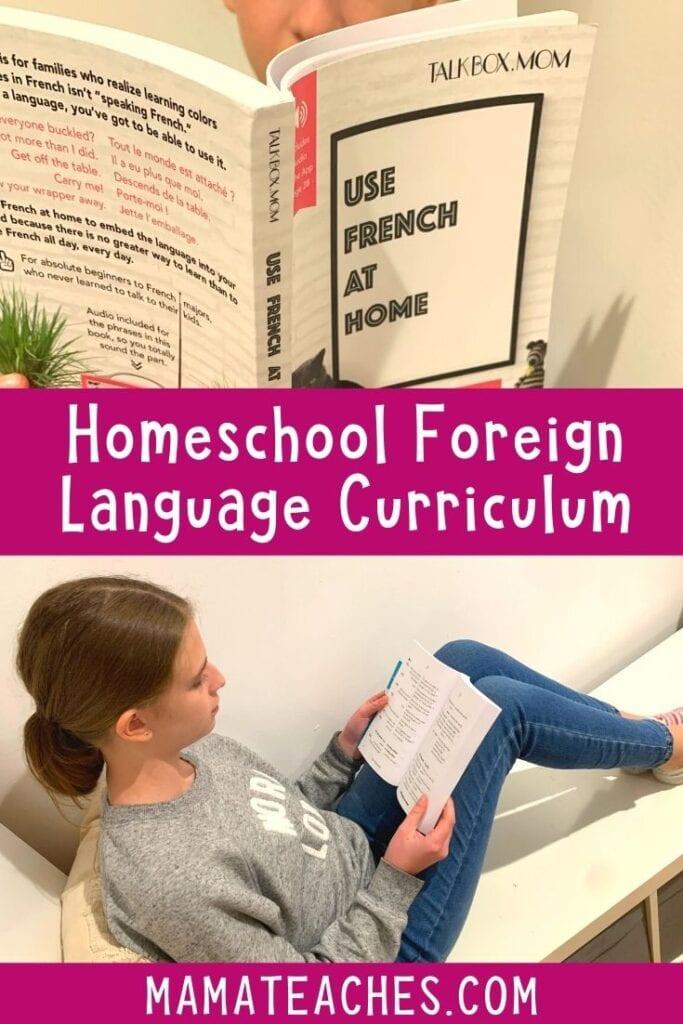 Homeschool Foreign Language Curriculum