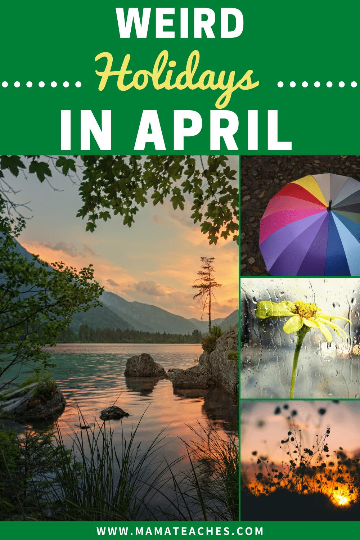 Weird Holidays in April