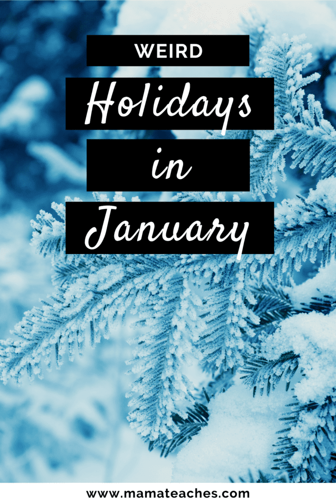 Weird Holidays in January
