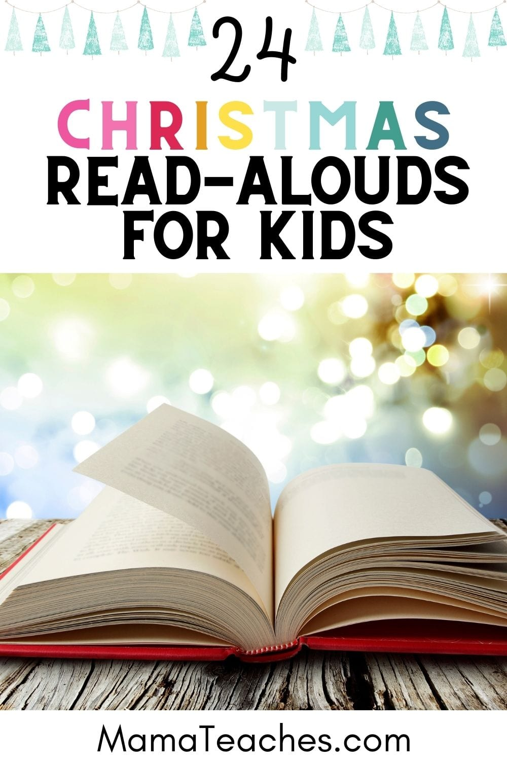 24 Christmas Read-Alouds for Kids