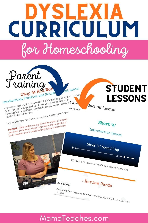 Dyslexia Curriculum for Homeschooling