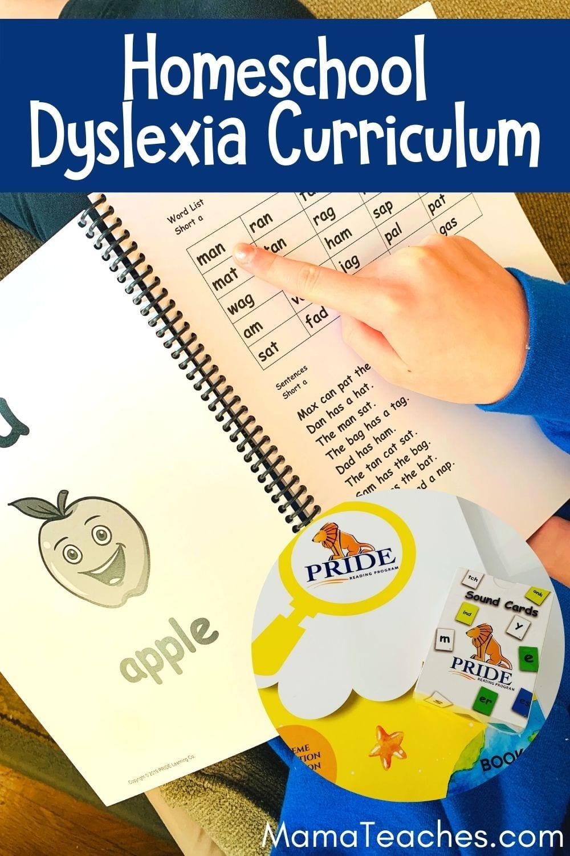 Homeschool Dyslexia Curriculum for Kids