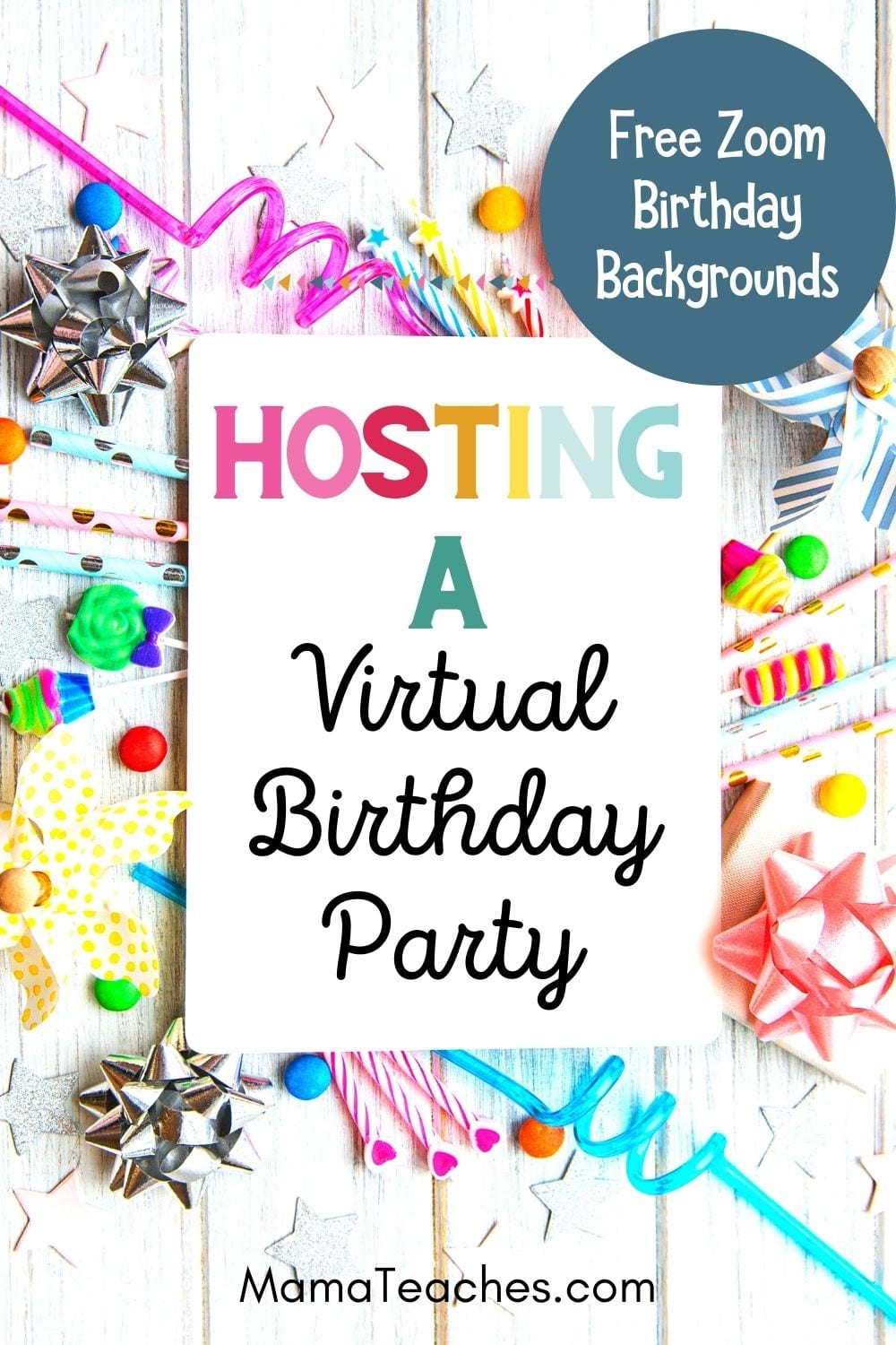 Hosting a Virtual Birthday Party for Kids