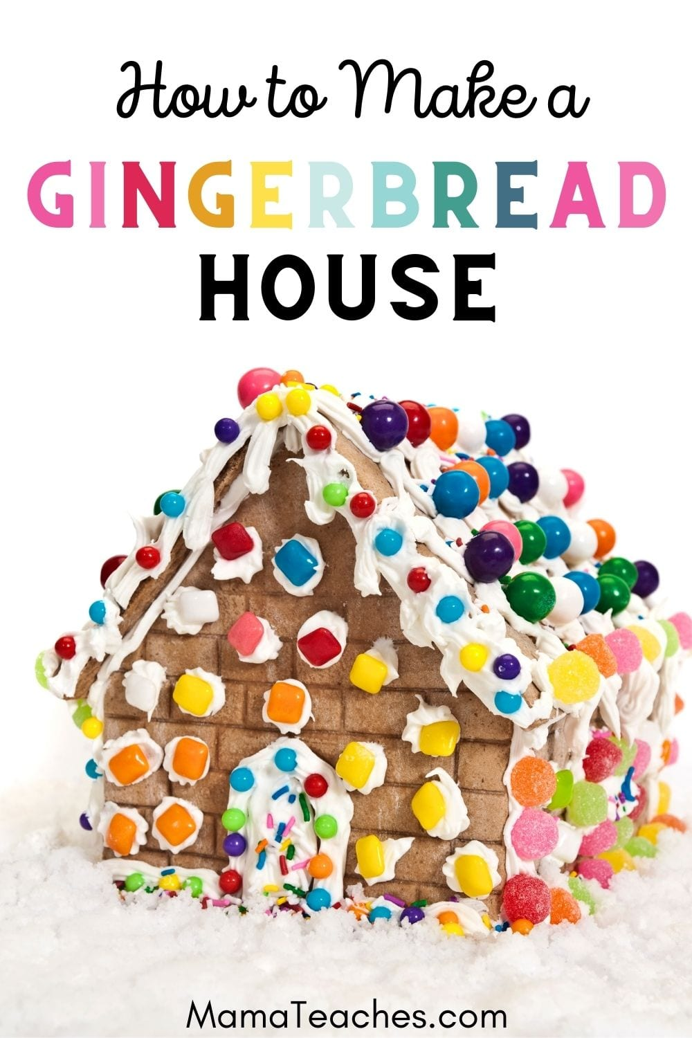 How to Make a Gingerbread House Christmas DIY