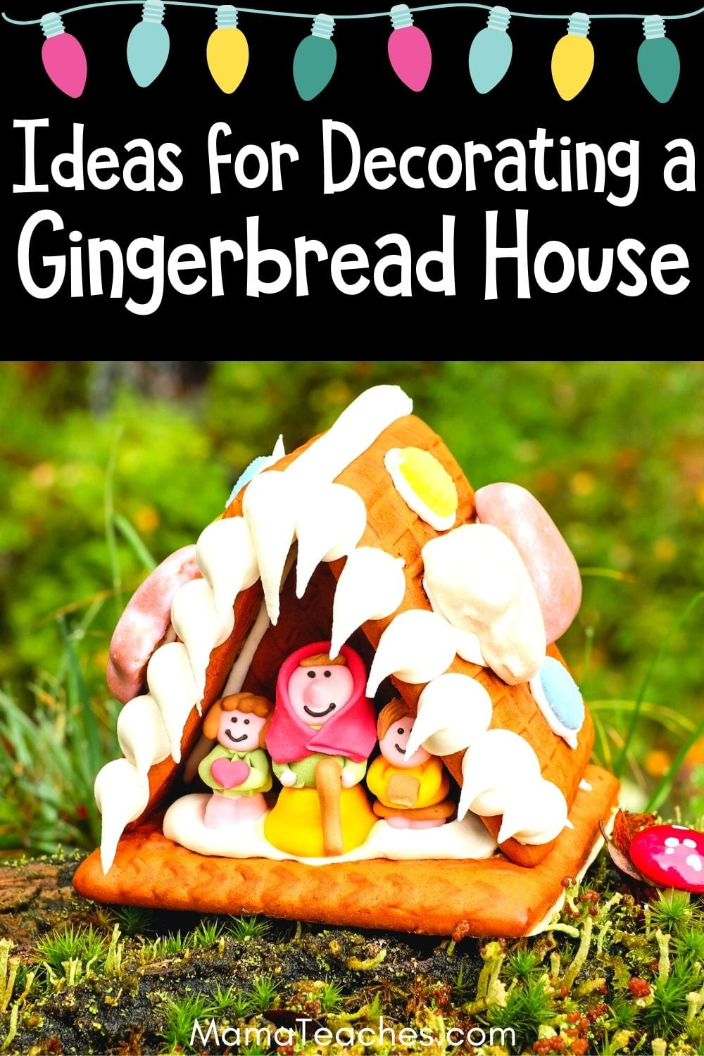 Ideas for Decorating a Gingerbread House