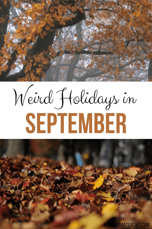 Weird Holidays in September