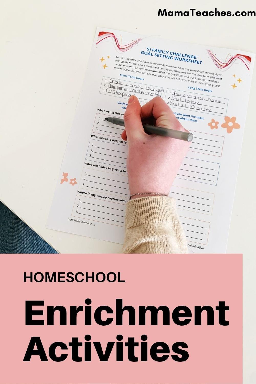 Homeschool Enrichment Activities for Kids