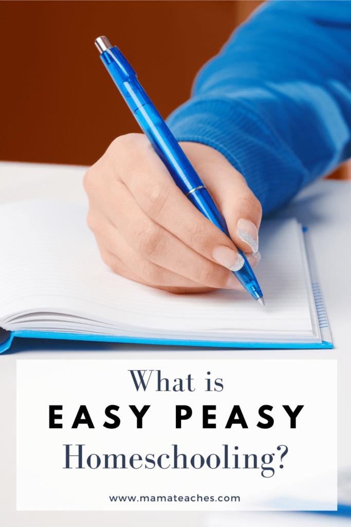 What is Easy Peasy Homeschool?