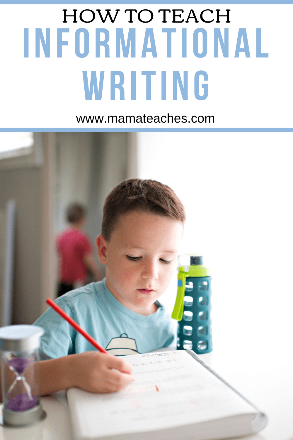 How to Teach Informational Writing