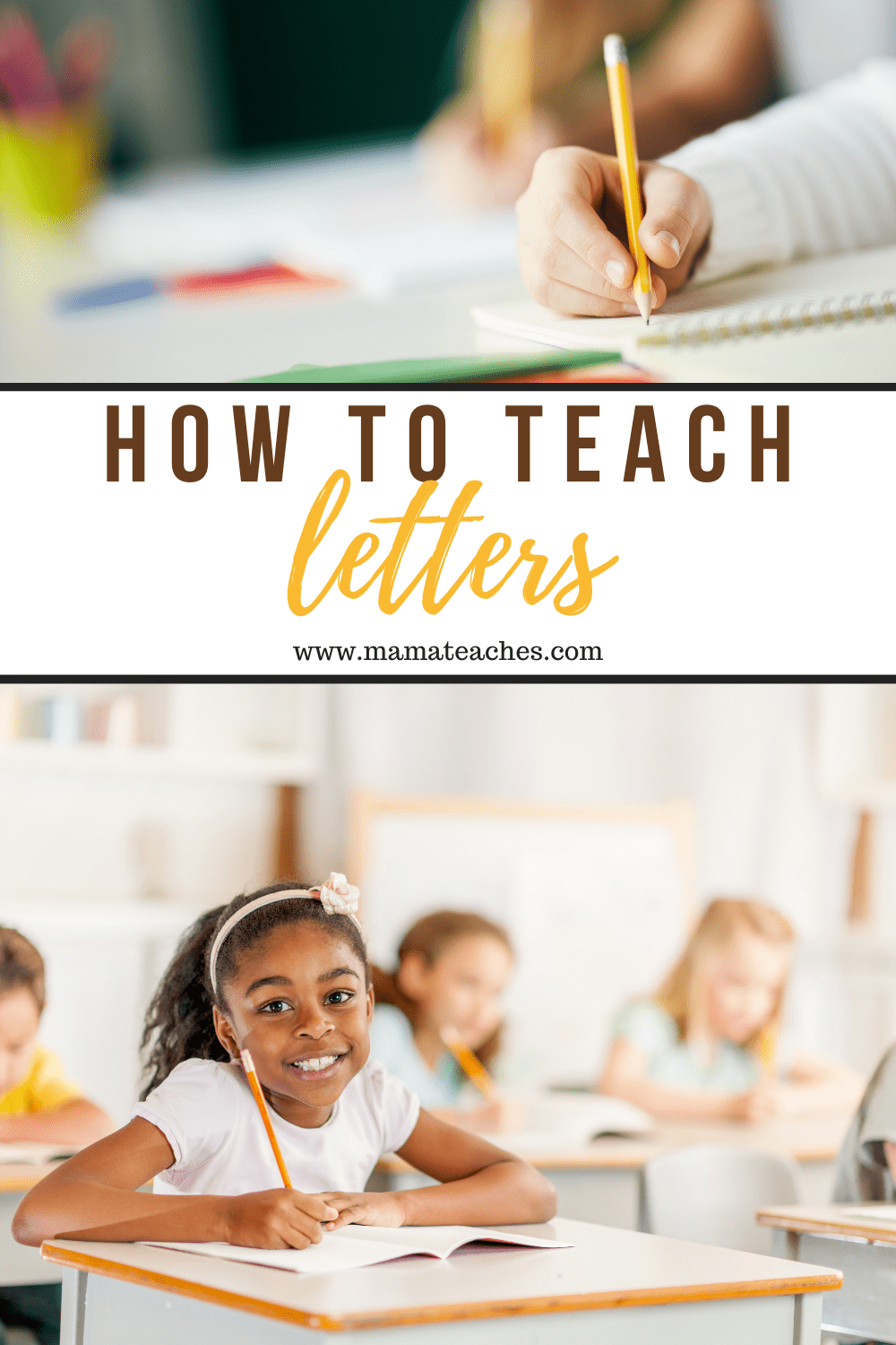 How to Teach Letters