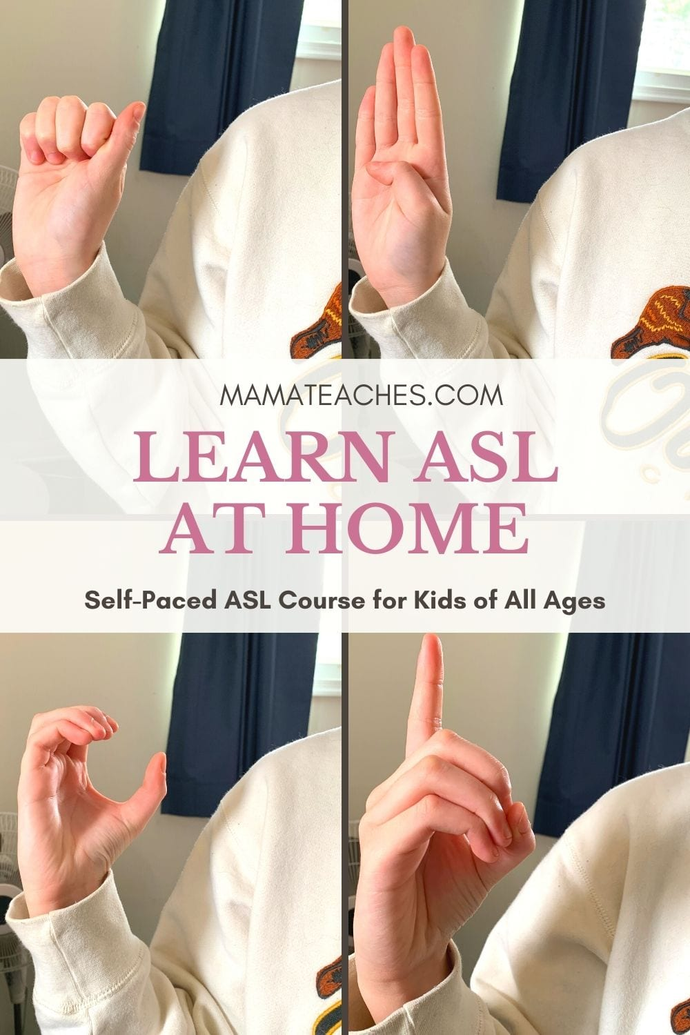 Learn ASL at Home with This Self-Paced Course
