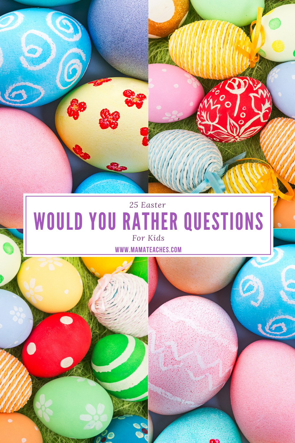 25 Easter Would You Rather Questions
