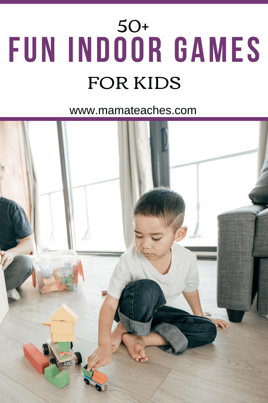 50 Fun Indoor Games for Kids